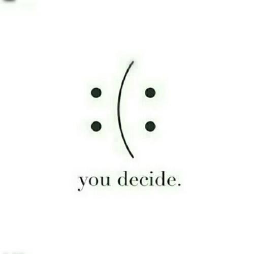 #triste o #felice? Dipende da te! www.socialmamma.it