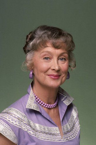 """Betty Garrett - She performed the role of Aunt Eller in our Hollywood Bowl concert production of """"OKLAHOMA"""".  Though she performed in many movie musicals, including the 1949 film adaptation of """"On The Town"""", she is probably best known to TV audiences as Edna Babish on """"Laverne & Shirley""""."""