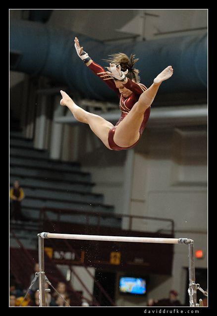 Women's Gymnastics - Nebraska at Minnesota #KyFun gymnast uneven bars m.46.6 from Gymnastics: Collegiate board