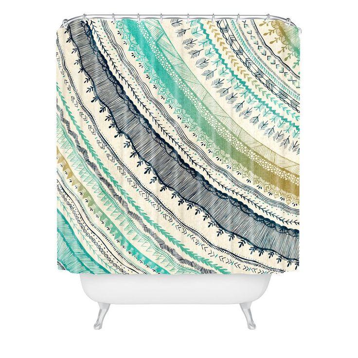 RosebudStudio Boho Fall Shower Curtain | DENY Designs Home Accessories