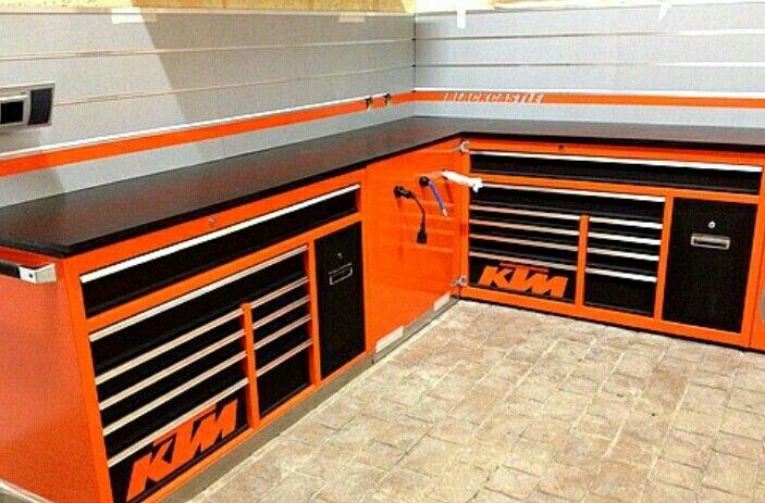 99 best bad ass tool boxes images on pinterest garage for Custom garage workshop