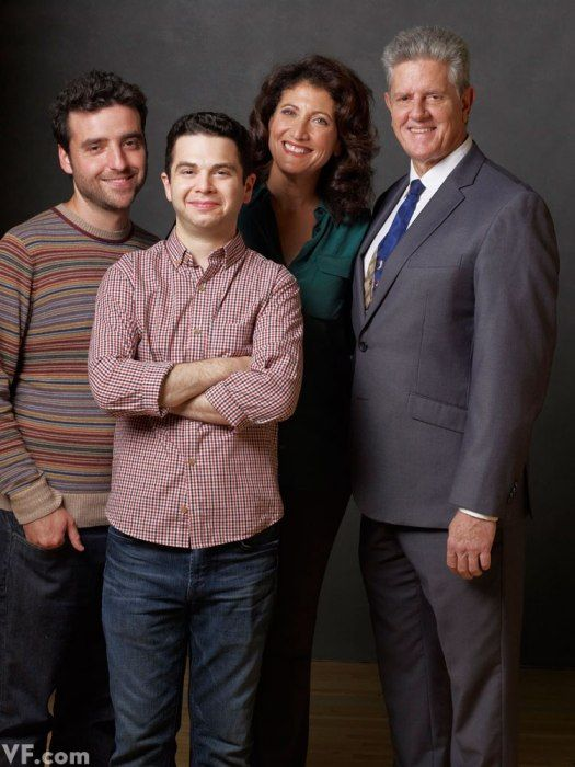 Freaks & Geeks Cast 10 years reunion, From left: David Krumholtz, Samm Levine, Amy Aquino, and Sam McMurray.