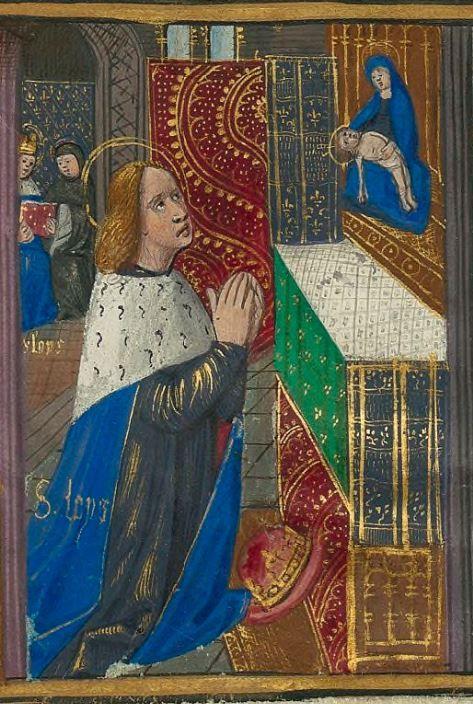 Nice Titre Le Livre des faiz monseigneur saint Loys pos la requ te