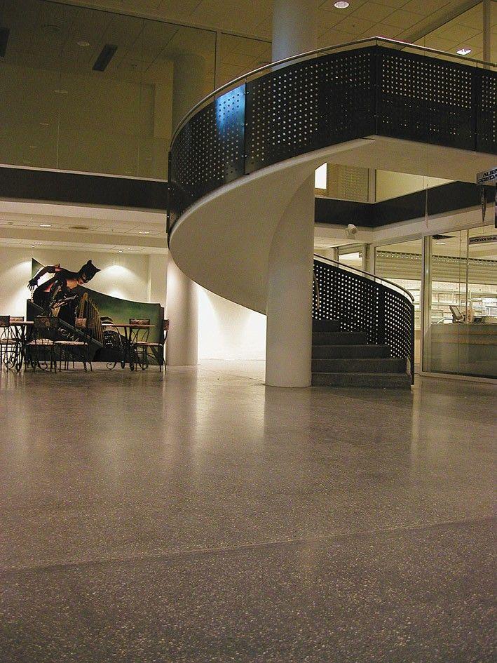 Slipte betonggulv : Vinstra Sementpuss