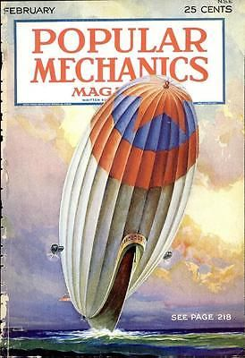 POPULAR MECHANICS MAGAZINE 1930-1932 weird inventions weapons 25 issues DVD V6