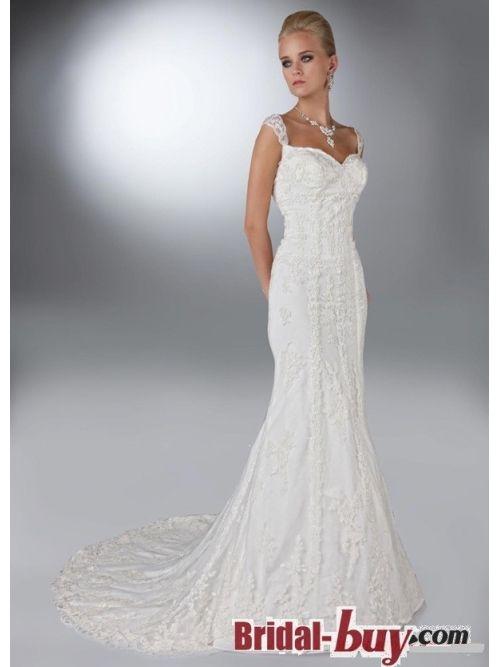 Mermaid Off The Shoulder Elegant Vintage Lace Wedding Dresses