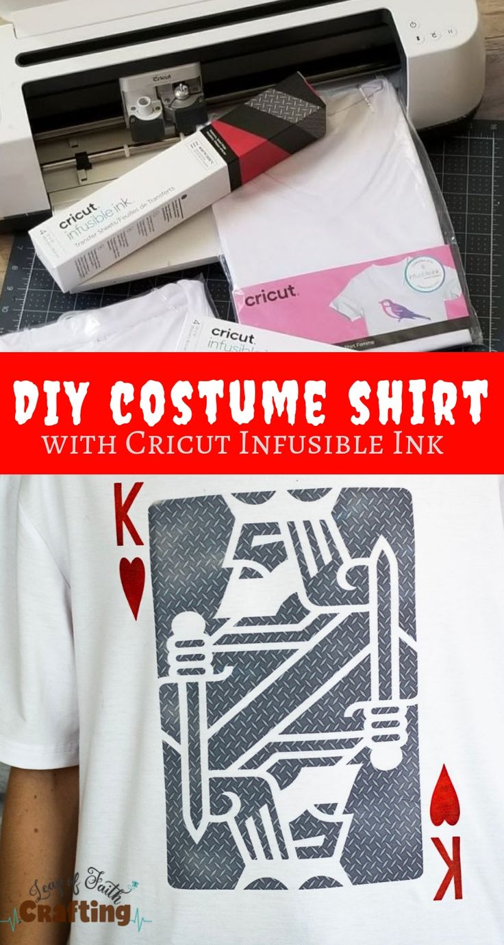 Cricut Halloween Ideas: DIY Costume Shirts with Infusible ...