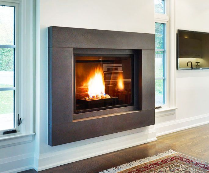 17 Best Images About Fireplaces On Pinterest Concrete