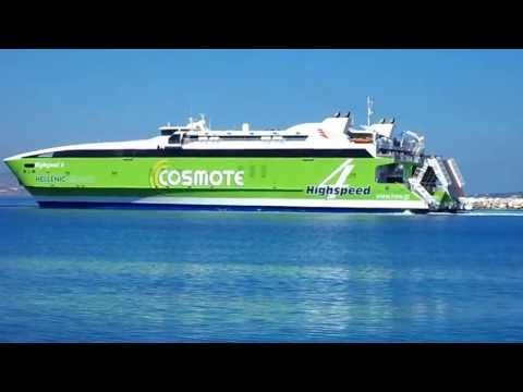 Hellenic Seaways has published 2013 HighSpeed 4 ferry schedules