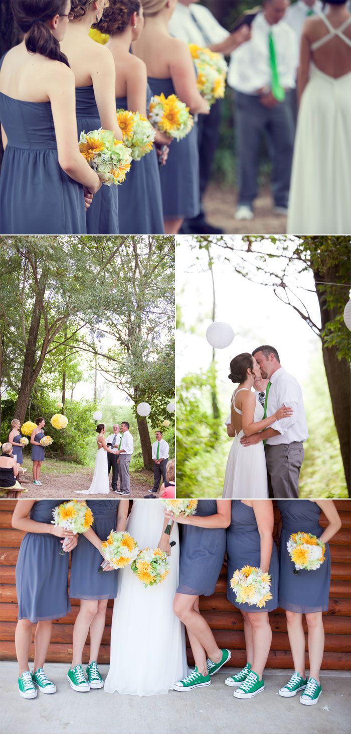 42 best events and wedding images on pinterest weddings wedding it reminds me of you vintage casual and fun plus the girls have converse shoes on you just need to change some of the colors obviously sundresses ombrellifo Images