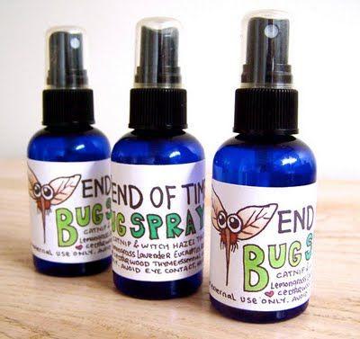 Homemade Bug Spray @Natasha Dulong