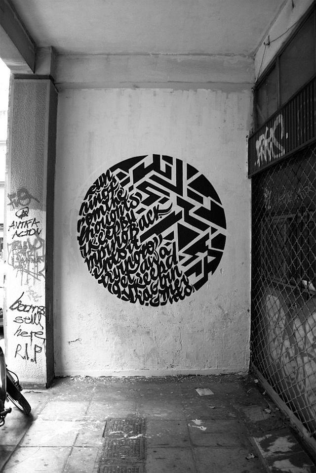 Graffiti meets Typography – Greg Papagrigoriou & Simek    asdjfkalsdjfkalsdf LOVE