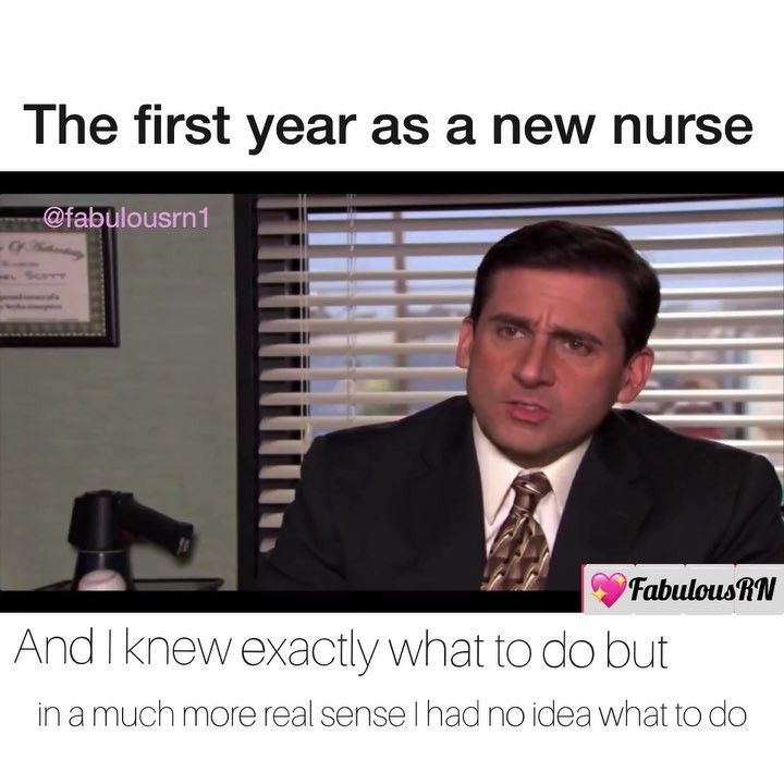 *Turn sound on* The first year as a new nurse. #nurselife The most accurate thing ever.
