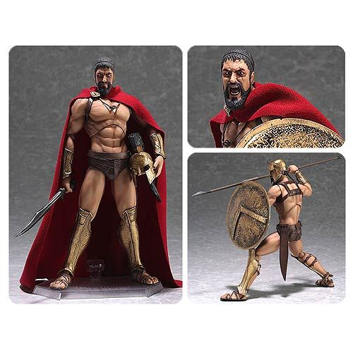 300 Leonidas Figma Action Figure - Good Smile Company - 300 - Action Figures at Entertainment Earth