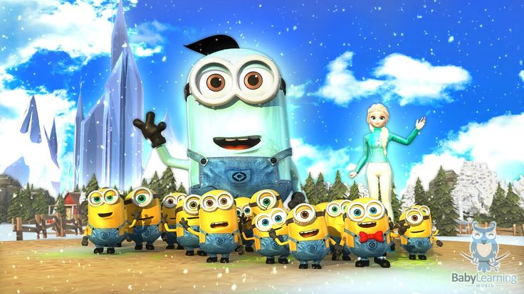 Elsa and the Minions Jazz Up The ABC Song | Learn the English Alphabet