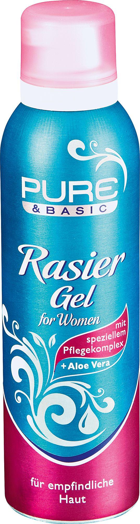 Pure & Basic Rasiergel women
