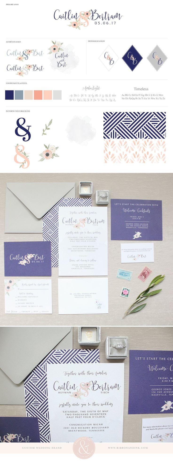 108 best Wedding Invitations, Brands, Logos images on Pinterest ...
