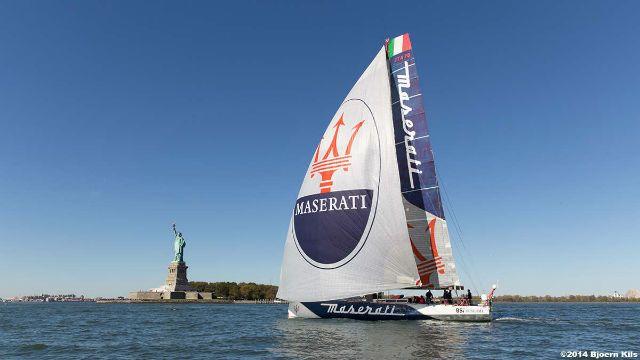 """""""Maserati"""" lanzado a por el récord del Atlántico Norte"""