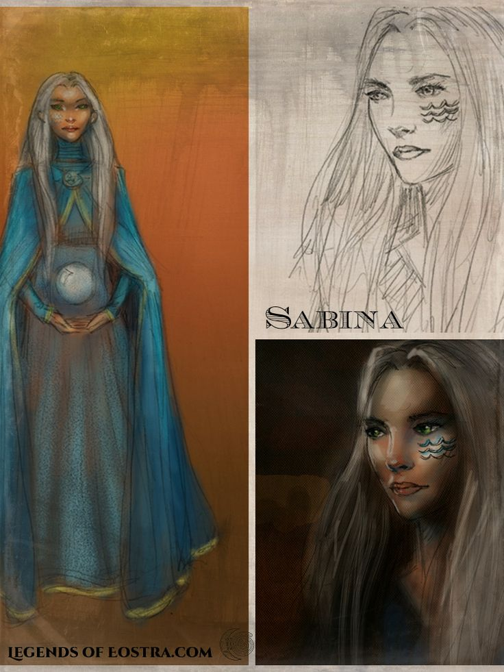 Sabina Bru of Annwyn. See how her character drawing developed.  #motherearth #fantasy #auslit #easter #vernalequinox #YABook
