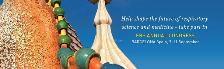 MIR takes part to the European Respiratory Society annual congress, in Barcelona (Spain), 7 to 11 September. To help shape the future of respiratory science and medicine. http://www.erscongress2013.org/