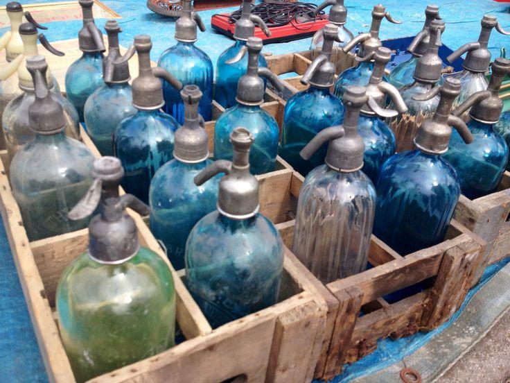 bouteille # d'eau # de seltz #ancienne # Braderie de Lille 2013