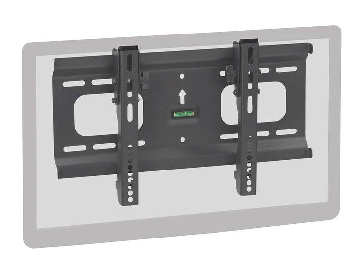"Monoprice Ultra-Slim Titlting Wall Mount Bracket for 32""- 55"" Flat Screen TV (LCD, Plasma, LED) - VESA Mount, UL Certified"