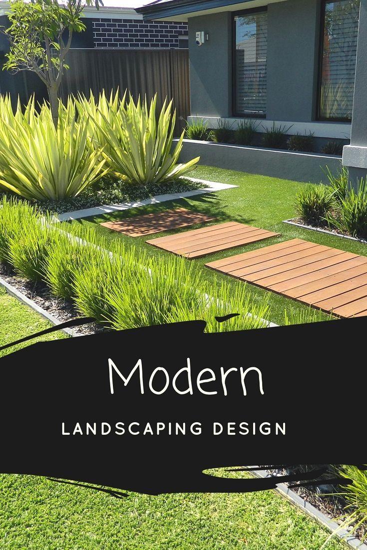 Top Modern Landscape Ideas Modern Landscaping Landscape Design Modern Landscape Design
