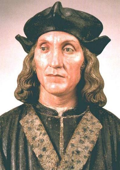 Look at this amazing bust of Henry VII - it was made around 1509 and based on his death mask. According to the V&A museum, it could have been commissioned by Bishop Fisher.(from Tudor History on FB)