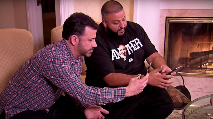Watch Jimmy Kimmel Recruit DJ Khaled as Snapchat Advisor #headphones #music #headphones