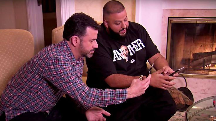 Watch Jimmy Kimmel Recruit DJ Khaled as Snapchat Advisor #headphones #music #headphones