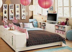idées pour la chambre d'ado fille