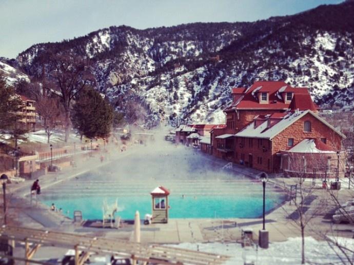 Hot springs in Aspen