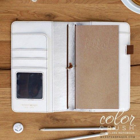 Travelers Notebook Midori Color Crush - Naturel