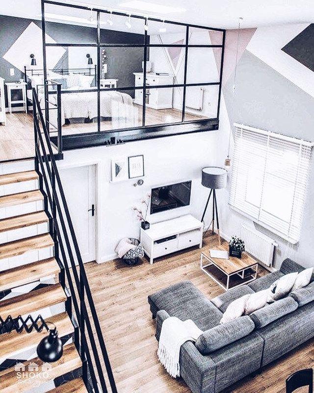 Loft living via @shokodesign #inspiration #interiordesign #interior #home #homedecor #homedesign #decor #decoration #loft #bestoftheday #love #instagood #instamood #instadaily #instahome