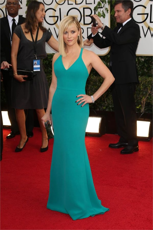 Reese Witherspoon in Calvin Klein Collection - golden globes 2014
