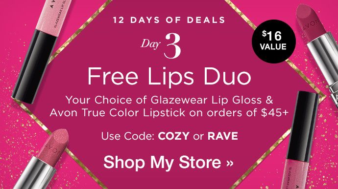 12 Days of Deals with #Avon Day 3 ! 💄 Choose Your FREE