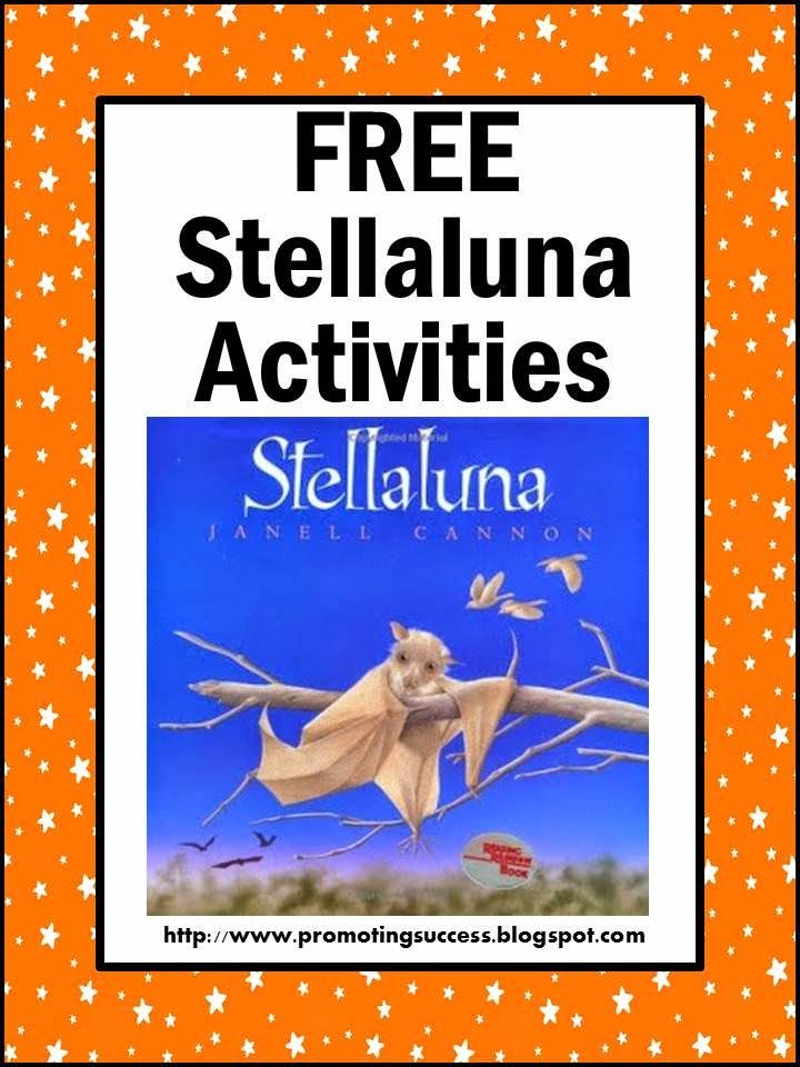 Free Stellaluna Classroom Activities and Printables - Browse below for lots of ideas!  You will find a FREE graphic organizer, a read aloud video, bat facts videos, meet the world's largest bat, make a bat craft, play a comprehension game, and download a FREE counting worksheet.