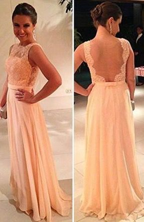 Long lace prom dress, Beaded Evening Dress