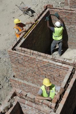 The Name of the Style of Home Built With Mortar Protruding From Brick