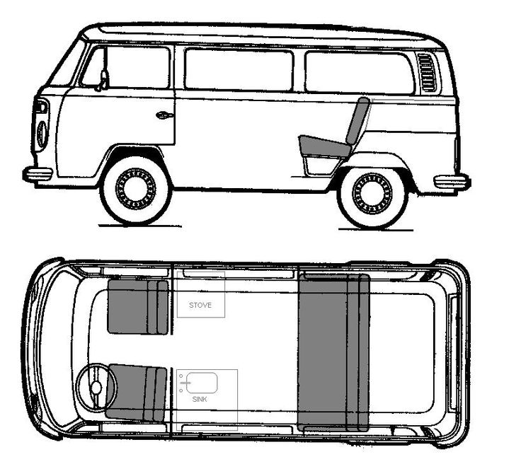 drawings of buses