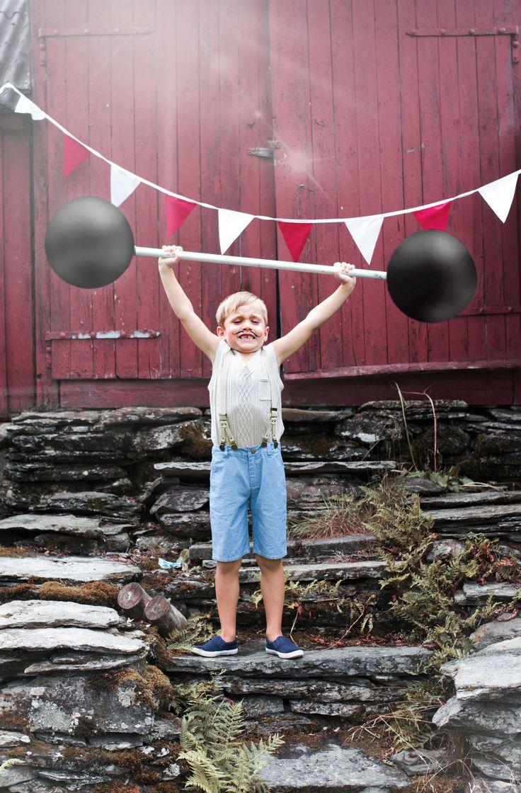 Cute Children S Wear Vintage Circus Kids Editorial