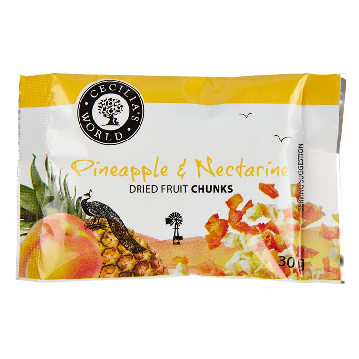 This perfect combination of delicious bites of Eastern Cape pineapples and our favourite Colorburst nectarines from our valley is a show-stopper of flavour and colour. A bright yellow and orange mouthful of sweet and tart fruity deliciousness. Try it! http://ceciliasfarm.co.za/product/pineapple-nectarine-chunks-2/