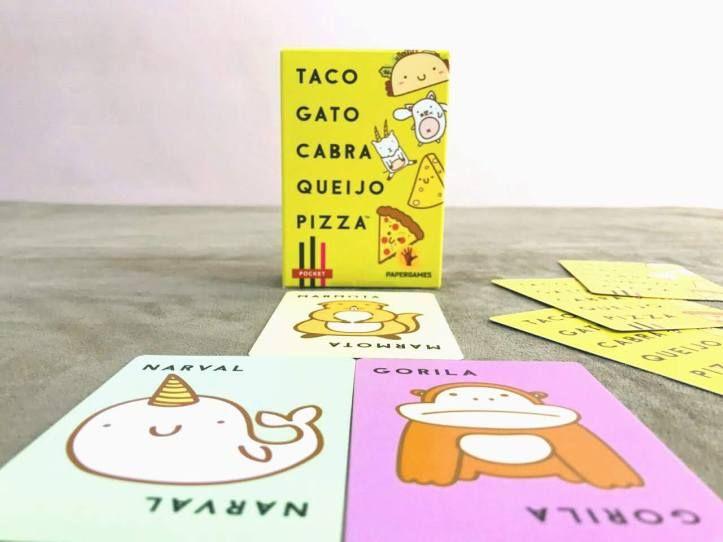 Um Jogo De Cartas Rapido E Divertido Para Toda Familia Taco Gato Cabra Queijo Pizza Taco Gato Jogo De Cartas Jogos De Cartas