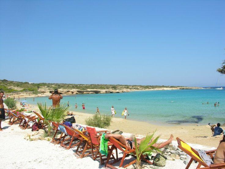 Fanos beach in Koufonisi island, Greece