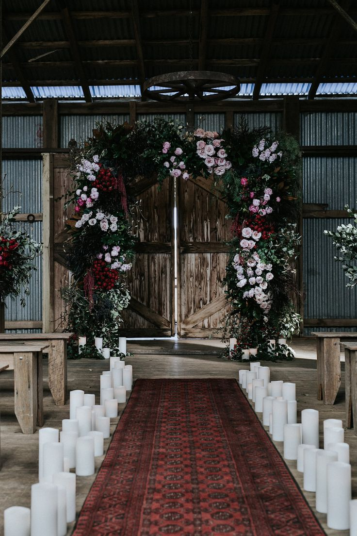 Waldara Winter Wedding Ceremony | Inspiration by LOVE FIND CO.