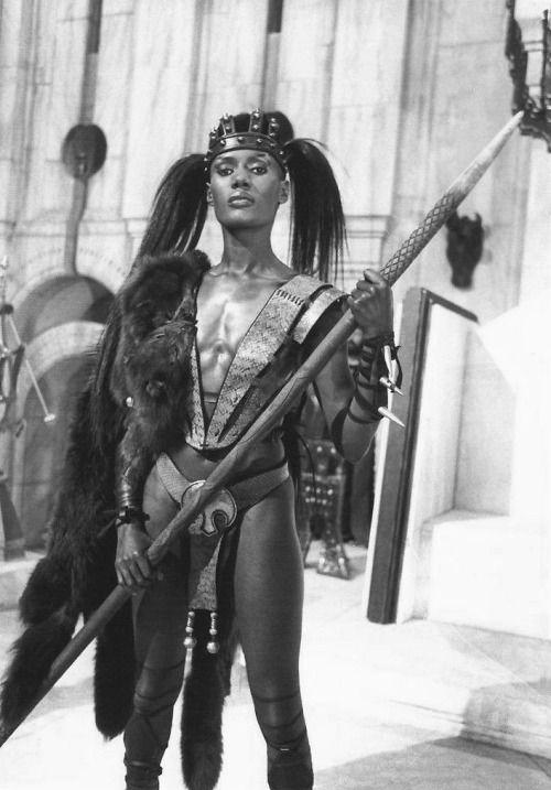 Grace Jones as Zula in Conan the Destroyer (1984)