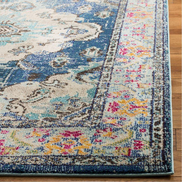Ady Navy Light Blue Area Rug Blue Area Rugs Navy Rug Square Area Rugs