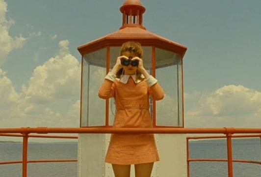 Moonrise Kingdom directed by Wes Anderson