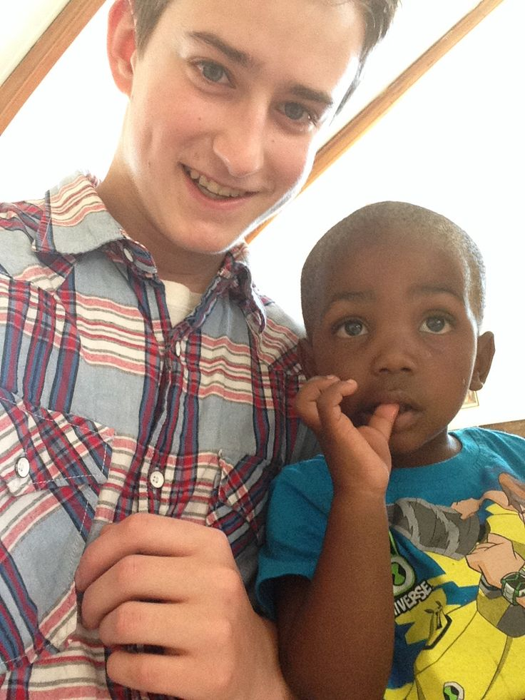 One of the children at the church we visited in Orlando West, Johannesburg.