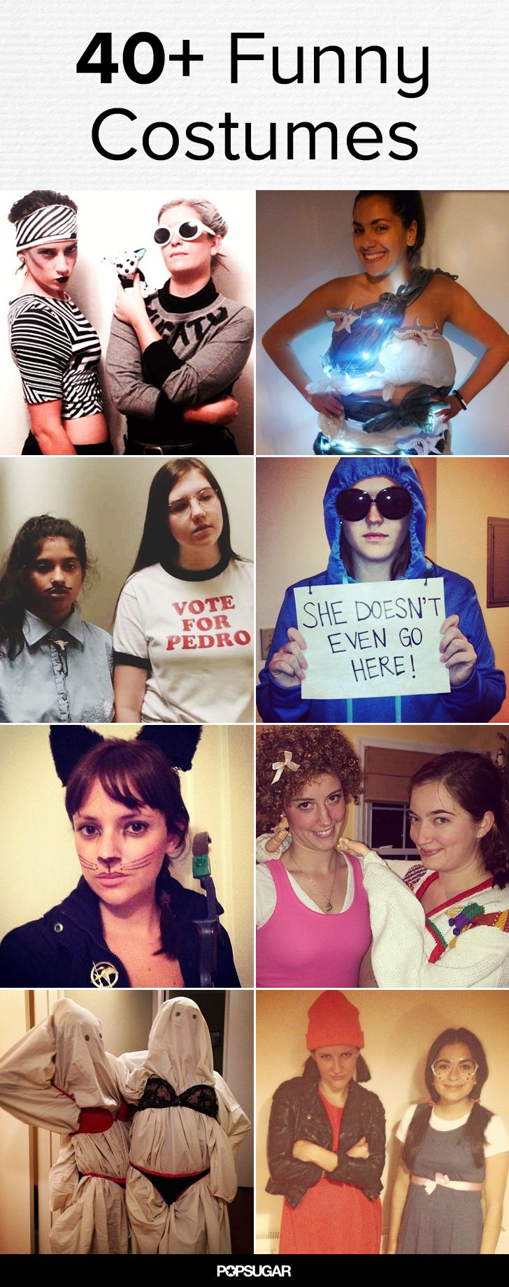 IDEIAS DIFERENTES E FANTASIAS ENGRAÇADAS PARA O CARNAVAL 44 Fabulously Funny Halloween Costumes For Women